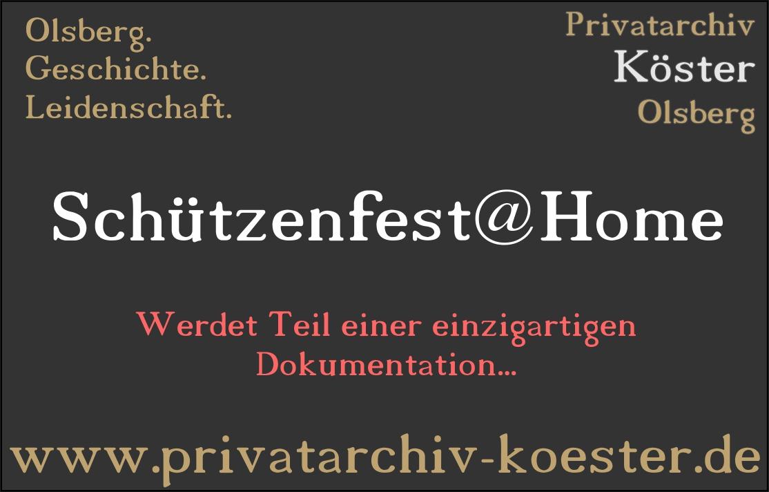 Schützenfest@Home